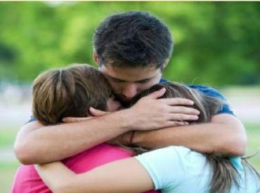 Perdoe rápido, é urgente! Expresse o amor, abrace e beije!