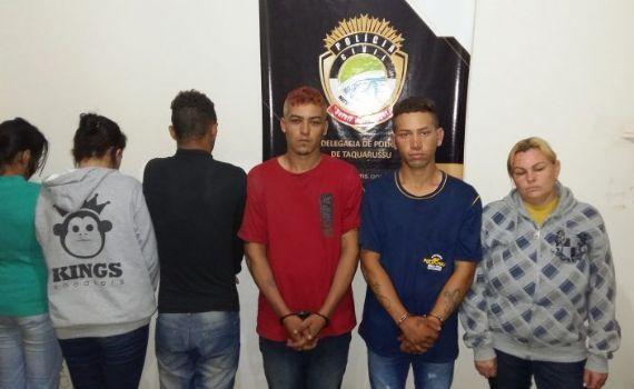 Autores de furto em delegacia são presos