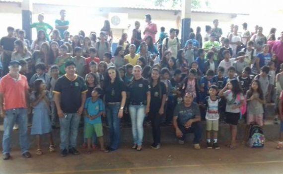 Polícia Civil leva palestras às Escolas indígenas