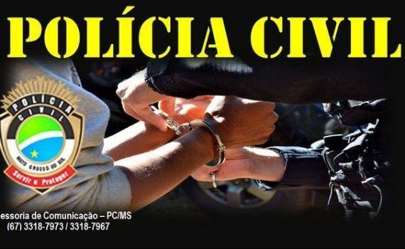 Polícia Civil de Douradina conclui inquérito de feminicídio e prende o autor do crime