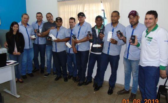 Agentes de Combate a Endemias de Itaquiraí vão reavaliar com novos smartphones