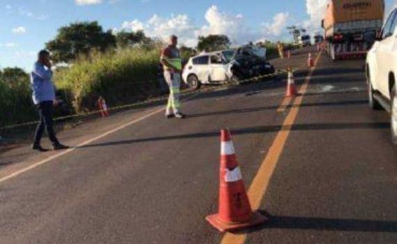 Acidente com morte na BR-163 entre Jaraguari e Bandeirantes causa longo congestionamento