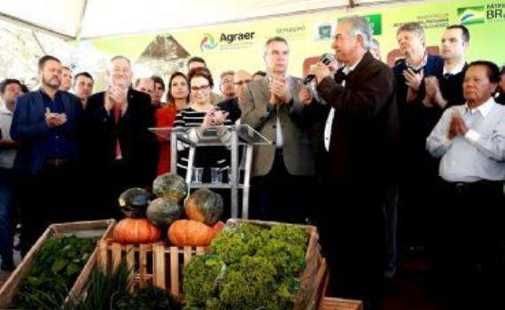 Jaraguari e mais 13 municípios de MS recebem implementos agrícolas do governo