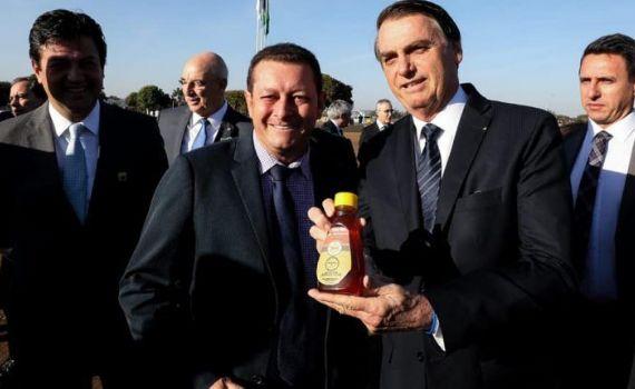 Prefeito Dalmy participou de encontro com Presidente Bolsonaro