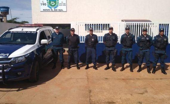 Polícia Militar define ações para policiamento em Novo Horizonte do Sul