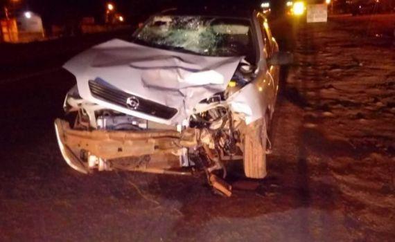 Jovem de 19 anos morre em acidente entre carro e moto na BR-262