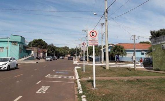 Placas de sinalização serão substituídas em Ribas do Rio Pardo