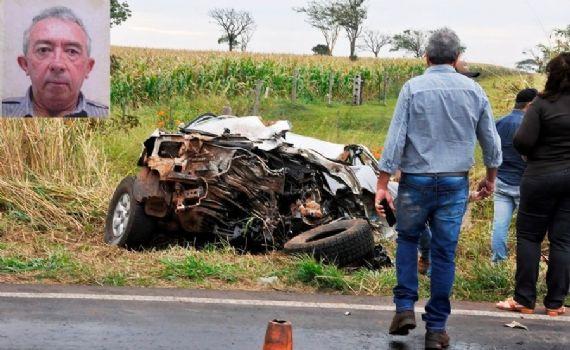 Identificado homem que morreu em acidente envolvendo carreta e caminhonete em Batayporã