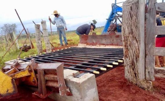 Instalação de mata-burros torna mais ágil transporte escolar na zona rural