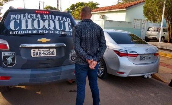 Receptador é preso após anunciar carro clonado em site