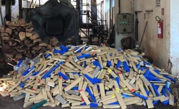 3 toneladas de maconha são apreendidas e incineradas na fronteira