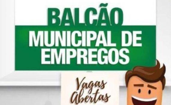 Oportunidade de Emprego: Vagas abertas no Balcão Municipal