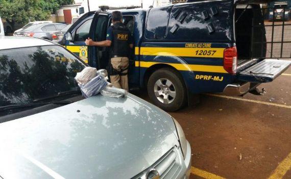 Polícia encontra 8 quilos de cocaína em tanque de combustível