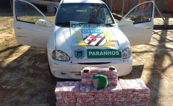 Polícia Militar de Paranhos prende paranaense por tráfico de drogas