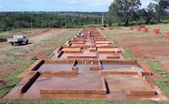 Paranaíba recebe 40 casas do Projeto Lote Urbanizado