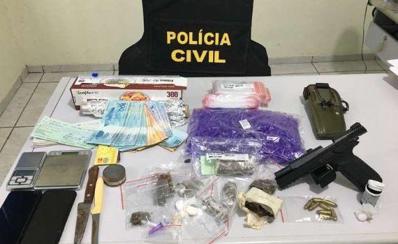 Quatro pessoas são presas por tráfico de drogas em Juti