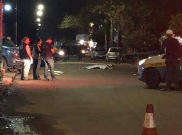 Homem morre atropelado por caminhão no Dom Antônio