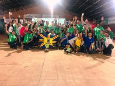 Alunos de Campo Grande são campeões em campeonato paralímpico estadual